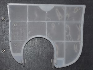 Air-Conditioner Filter Meshes and Screens Made of Molded Plastic Filters with Screens