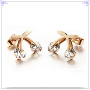 d864fcbc2 China Fashion Jewellery Crystal Jewelry Stainless Steel Earrings ...