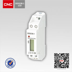 Dds226D-1p Single Phase DIN-Rail Watt-Hour Meter