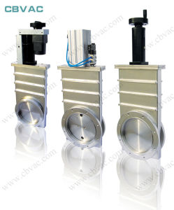 Pneumatic Gate Valve with GB-Lp Flange / Vacuum Gate Valve / Gate Valve pictures & photos