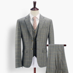 New Arriving Mens Custom Tailor Made Suits with Vest pictures & photos