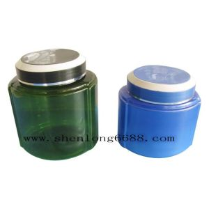 Plastic Body Cream Pet Bottle with Screw Cap 1000g