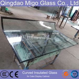 Curved Tempered Building Insulated Double Glazing Glass pictures & photos