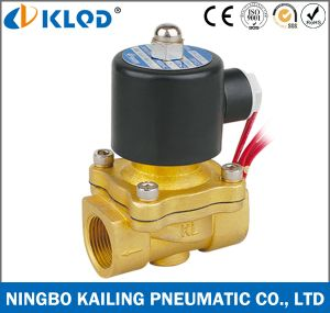 2W Series 2/2 Way Normally Closed Water Solenoid Valve pictures & photos