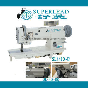 Superlead Automatic Thread Trimmer Single Needle Compound Feed Pneumatic Lockstitch Industrial Sewing Machinery (SL4410-DQ)