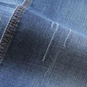 High Quality Brushed Cotton Denim Fabric pictures & photos