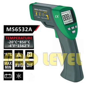 Pfofessional Accurate Non-Contact Infrared Thermometer (MS6532A) pictures & photos