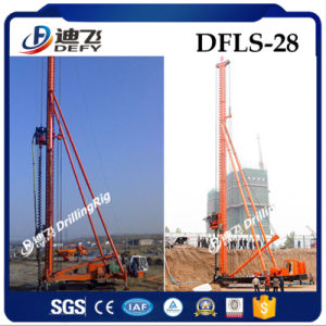 Hydraulic Drilling Rotary Rig Soil Auger Machine, Dfls-28 Max Drill Depth 28m, Soil Auger Machine pictures & photos