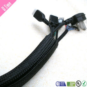 High Abrasion Resistance Woven Hook & Loop Cable Sleeve pictures & photos