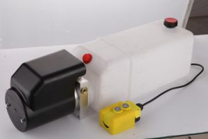 12VDC Double Acting Remote Controlled Hydraulic Pump - Remote Included pictures & photos