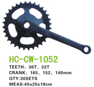 Bicycle Parts Chainwheel Crank (CW-1052) pictures & photos