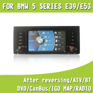 Car Multimedia Video DVD GPS Navigation with Android 4.0 System for BMW E39 E53