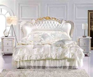 Classical Bed 669# Bedroom Furniture