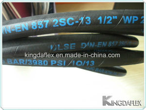 Hydraulic Rubber Hose (SAE100 R16/R17) pictures & photos