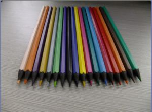 Resin Colored Lead, Recycled Black Material Pencil (PS-815)