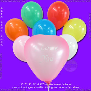 Inflatable Metallic Love Balloon pictures & photos