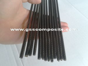 3k Twill Weave Carbon Fibre Solid Round Rod Shafts