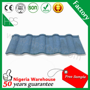 Africa Hot Sale Stone Chips Coated Metal Roof Tile (Romance type) pictures & photos