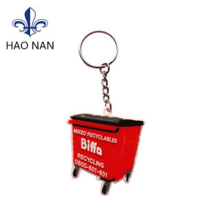 2017 Fashion Customized 3D Promotion Gift PVC Keychain pictures & photos
