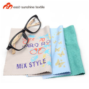 47cfa59bd13 China Custom Design Microfiber Glasses Lens Cleaning Nano Silver ...