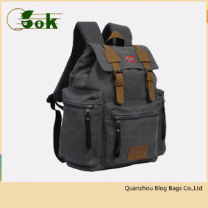 605fb1b51329 Wholesale 14 Inch Classic Retro Mini Small Canvas Hiking Backpack with  Laptop Compartment