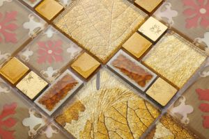 Most Popular Glass Mosaic Tile in Foshan (AJ2A1610) pictures & photos