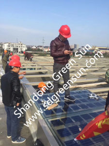 18V/160W Double Glass Solar Cell Panel