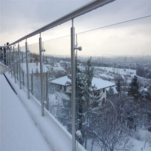 Frameless Glass Balcony Balustrades Balcony Rails pictures & photos