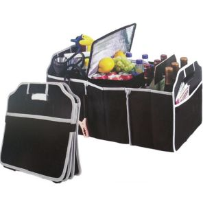 Autos Car Trunk Storage Box Cargo Organizer Multi-purpose Foldable Tool Case Bag