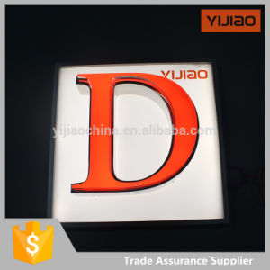 Front Lighting Energy Saving Alphabet Letter with Face PMMA pictures & photos