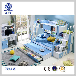 China Factory Directly Supply Children Triple Bunk Bed For Sale