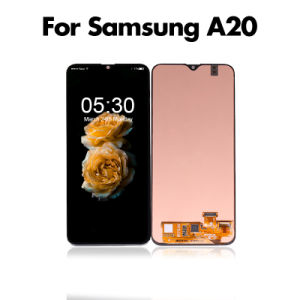 China Wholesale Price For Samsung Galaxy A20 Lcd Screen For Samsung A20 Lcd Display Digitizer China Mobile Phone Lcd Screen And Samsung Display Screen Price