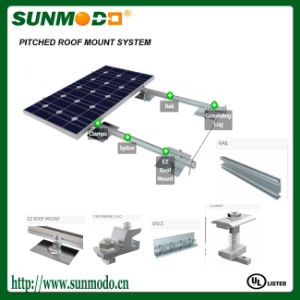 Easy Install Solar Mounting Rack System for Pitched Roof
