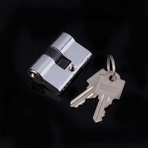 Double Open 44mm Brass Door Lock Cylinder
