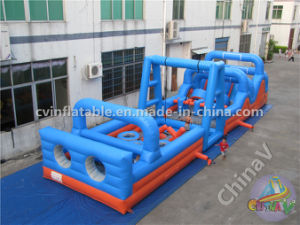 New Sport Games Giant Inflatable Obstacle Mad House