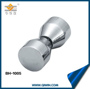 Aluminum Alloy Bathroom Knob for Glass Door pictures & photos