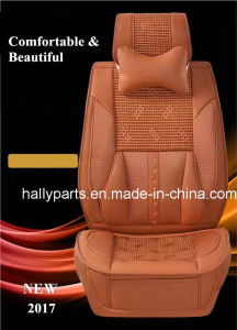 Message Car Seat Cover 3D Shape Rosewood