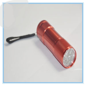9 LED Flashlight with Aluminum Alloy