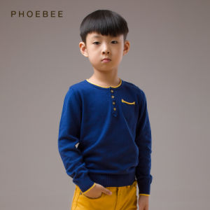 Blue Knitting/Knitted Children′s Clothes for Boys pictures & photos