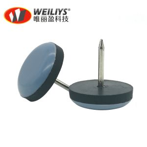 Pack Of 40 Knock In Nylon Furniture Slide Glide 3//4 Inch 19Mm Diameter