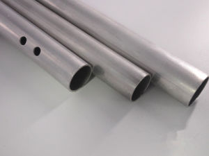 Aluminum/Aluminium Alloy 6000 Extrusion Anodized Pipe pictures & photos