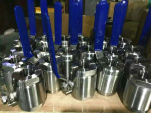 Stainless Steel High Pressure (800LB-16MPa) Ball Valve  pictures & photos
