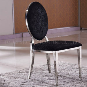 China Wholesale Stainless Steel Restaurant Furniture White Dining Chair pictures & photos