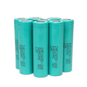2016 High Power 3.7V Samsung Inr18650-20r 22A 2000mAh Samsung Sdi 18650 Rechargeable 3.7V Li Ion Battery