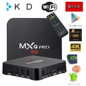 Mxq PRO 4k Smart TV Box Amlogic S905 Android 6.0 Support WiFi H. 265 Movies 4k Video pictures & photos