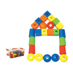 Children Desktop Building Blocks Beaded Toys