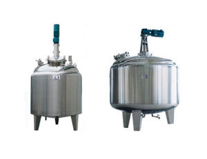 Sanitary Heating and Cooling Tank with Jacket