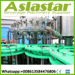 Automatic Carbonated Beverage Glass Bottle Washing Filling Capping Machine pictures & photos