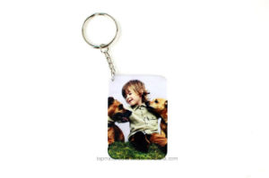 High Quality Sublimation Polymer Keychain Blanks pictures & photos