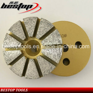 Bestop 3 Inch Stone Grinding Disc for Concrete pictures & photos